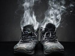 Stinkende schoenen behandel je met PediFris®
