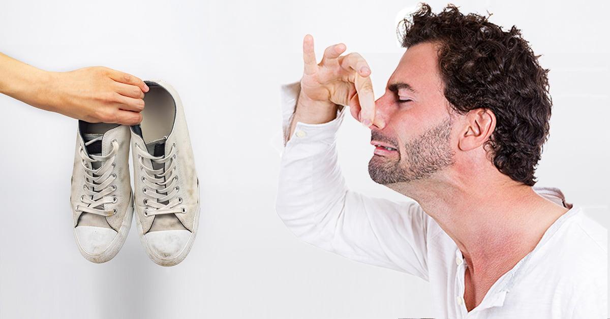 Stinkende Schoenen zweetvoeten