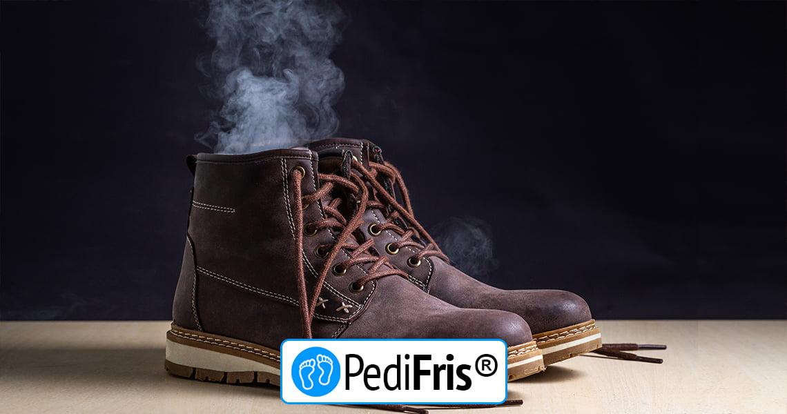 Zweetvoeten Deze schoenen trek je aan