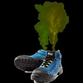 Stinkende Werkschoenen Door Zweetvoeten