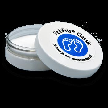 PediFris tegen zweetvoeten