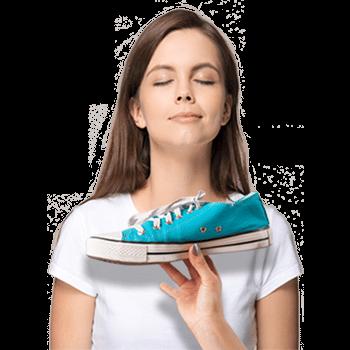Stinkende schoen zijn verleden tijd
